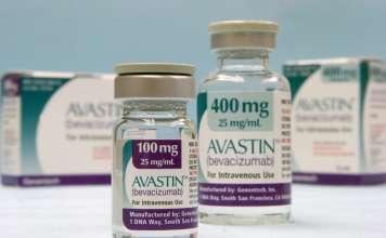 Упаковка препарата «Авастин».
