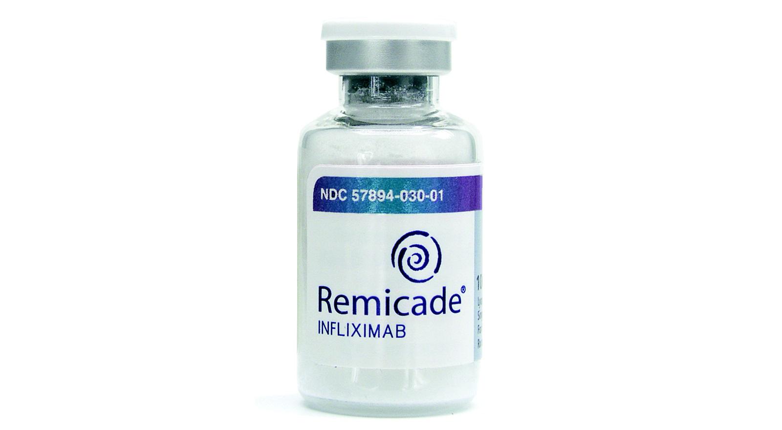 «Ремикейд» (Remicade) придуман в «Янссен байотек» (Janssen Biotech).