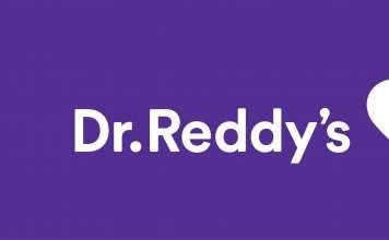 Логотип Dr. Reddy's Laboratories.