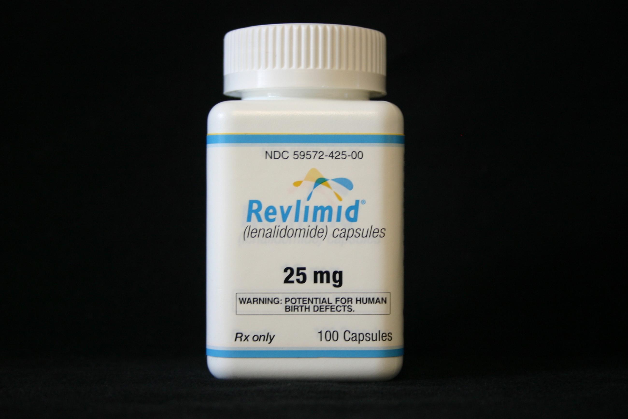 Упаковка препарата «Ревлимид».