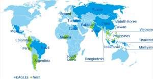 Страны с формирующимся рынком.