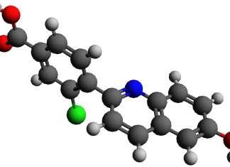 Химическая структура кавосонстата (cavosonstat).
