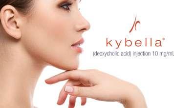 «Кайбела» (Kybella, дезоксихолевая кислота).