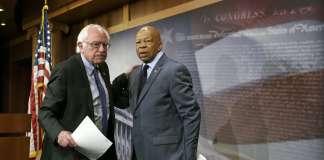 Берни Сандерс (Bernie Sanders) и Элайджа Каммингс (Elijah Cummings).