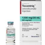 Упаковка препарата «Тецентрик» (Tecentriq, атезолизумаб).