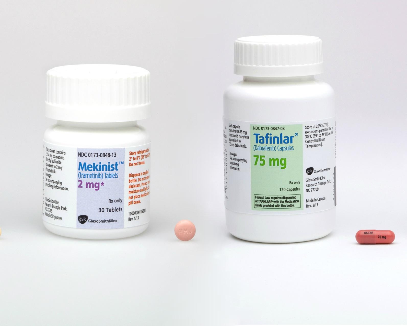 «Тафинлар» (Tafinlar, дабрафениб) и «Мекинист» (Mekinist, траметиниб).