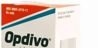 Упаковка препарата «Опдиво» (Opdivo, ниволумаб).