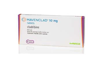 Упаковка препарата «Мавенклад» (Mavenclad, кладрибин).