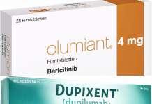 «Олюмиант» (Olumiant, барицитиниб) и «Дупиксент» (Dupixent, дупилумаб).