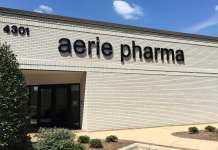 «Эри фармасьютикалс» (Aerie Pharmaceuticals).