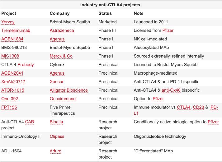 ctla 4 projects - Есть ли иммуноонкологическое будущее у блокаторов CTLA-4