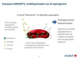 Эриаспаза против рака поджелудочной: нужно много денег