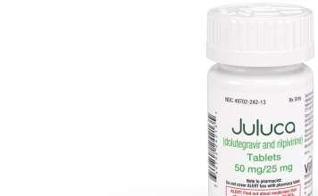 «Джулука» (Juluca, долутегравир + рилпивирин).