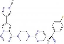 Авапритиниб (avapritinib).
