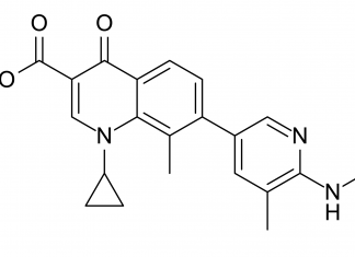 Озеноксацин (ozenoxacin).