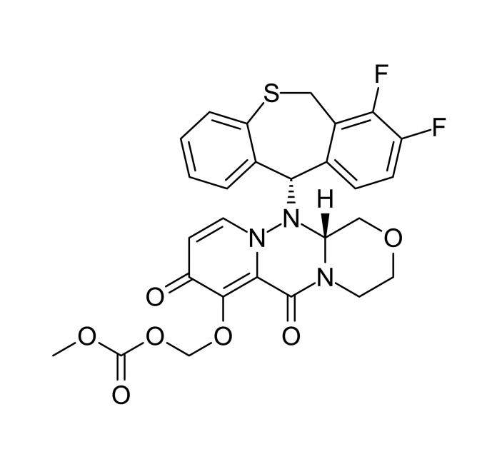 Балоксавир марбоксил (baloxavir marboxil, S-033188).