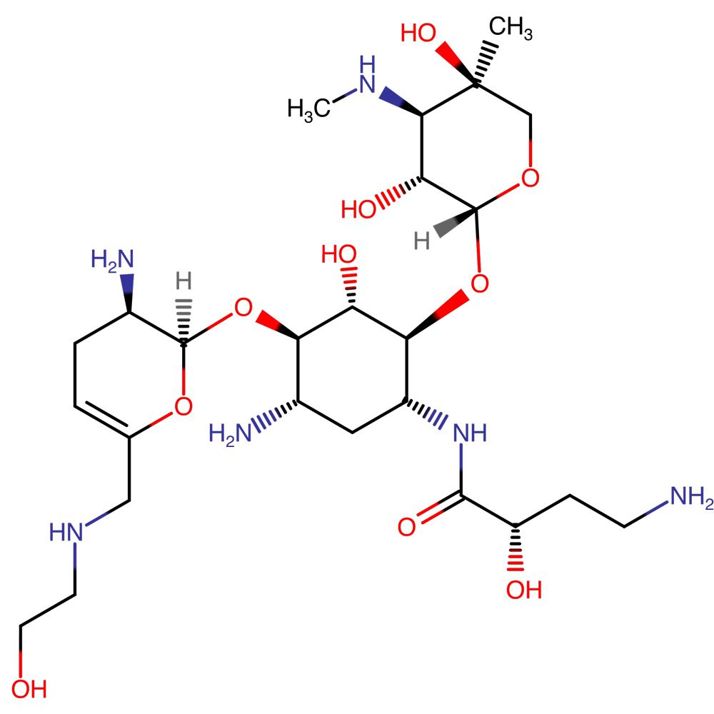 Плазомицин (plazomicin).