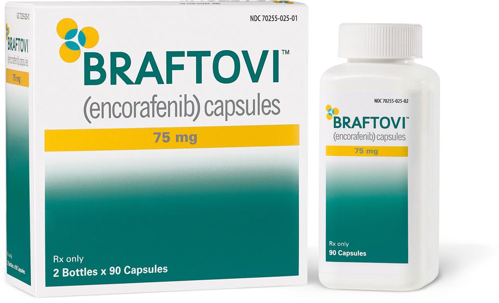 «Брафтови» (Braftovi, энкорафениб).