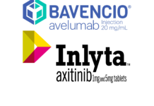 «Бавенсио» (Bavencio, авелумаб) и «Инлита» (Inlyta, акситиниб).