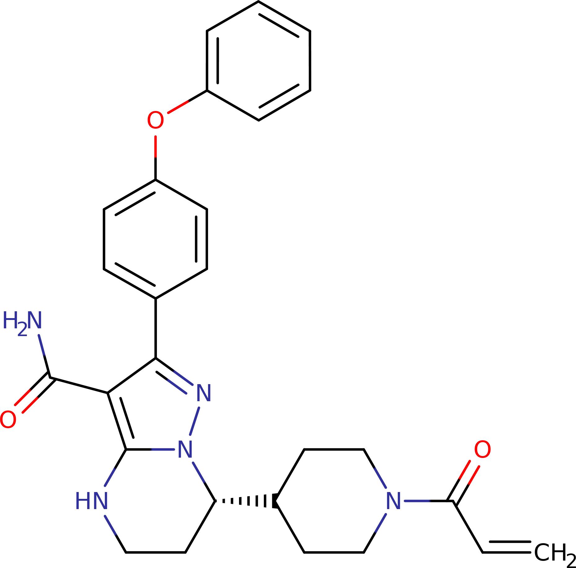 Занубрутиниб (zanubrutinib).