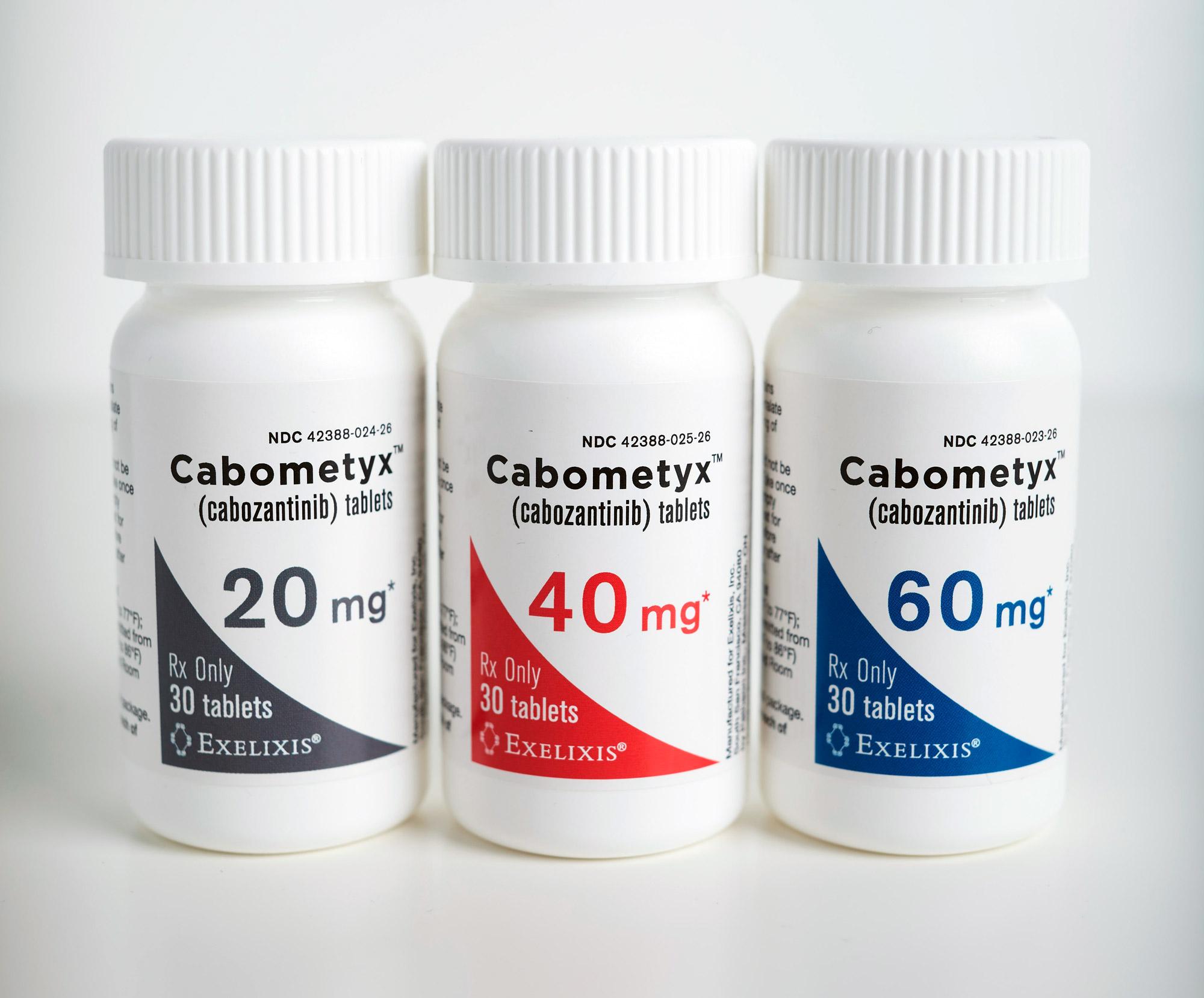 «Кабометикс» (Cabometyx, кабозантиниб).