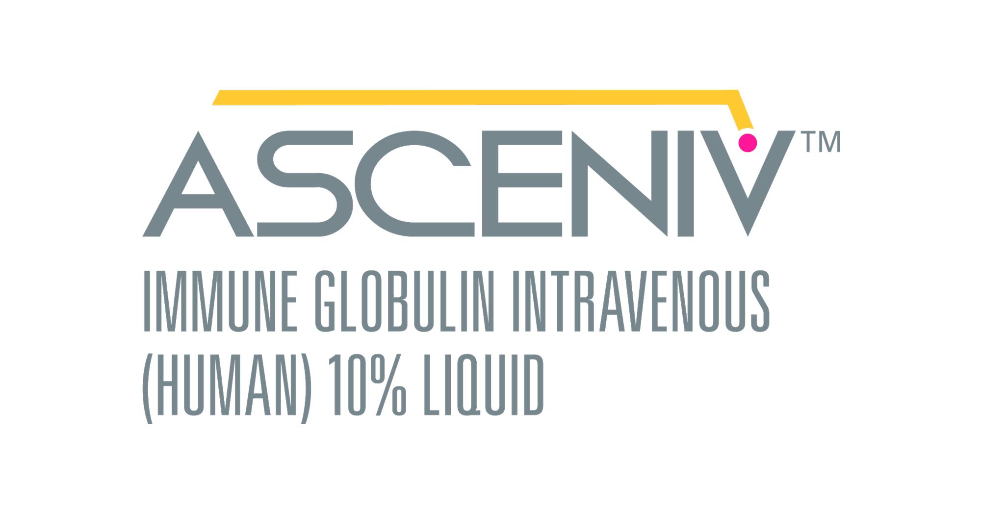 «Асценив» (Asceniv, внутривенный иммуноглобулин).
