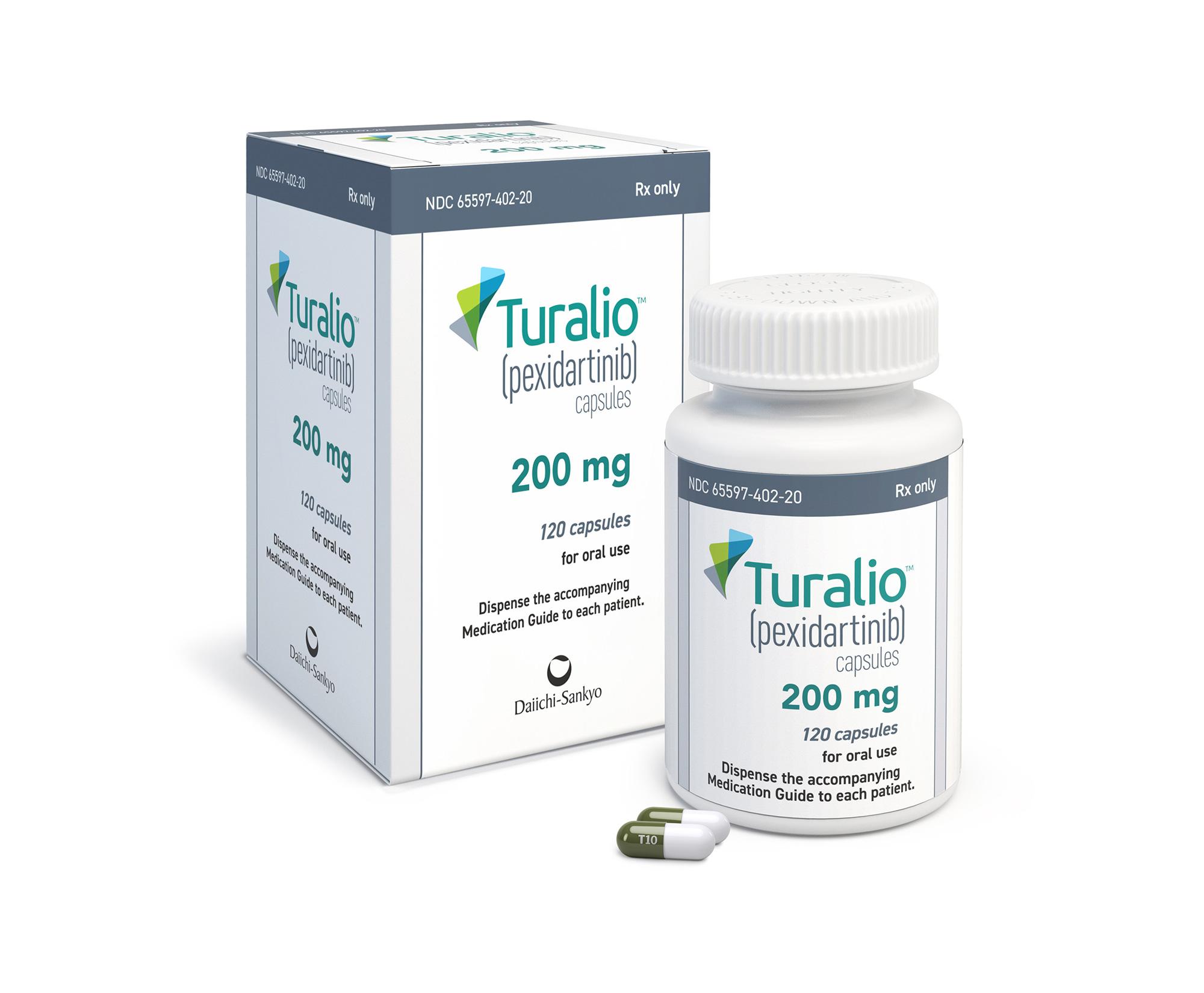 «Туралио» (Turalio, пексидартиниб).