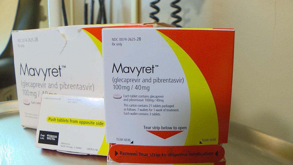 «Мавирет» (Mavyret/Maviret, глекапревир + пибрентасвир).