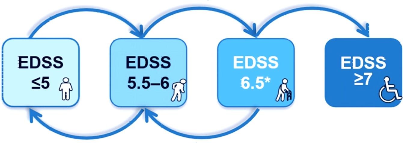 siponimod edss results 02 - Вторично-прогрессирующий рассеянный склероз: сипонимод против инвалидной коляски