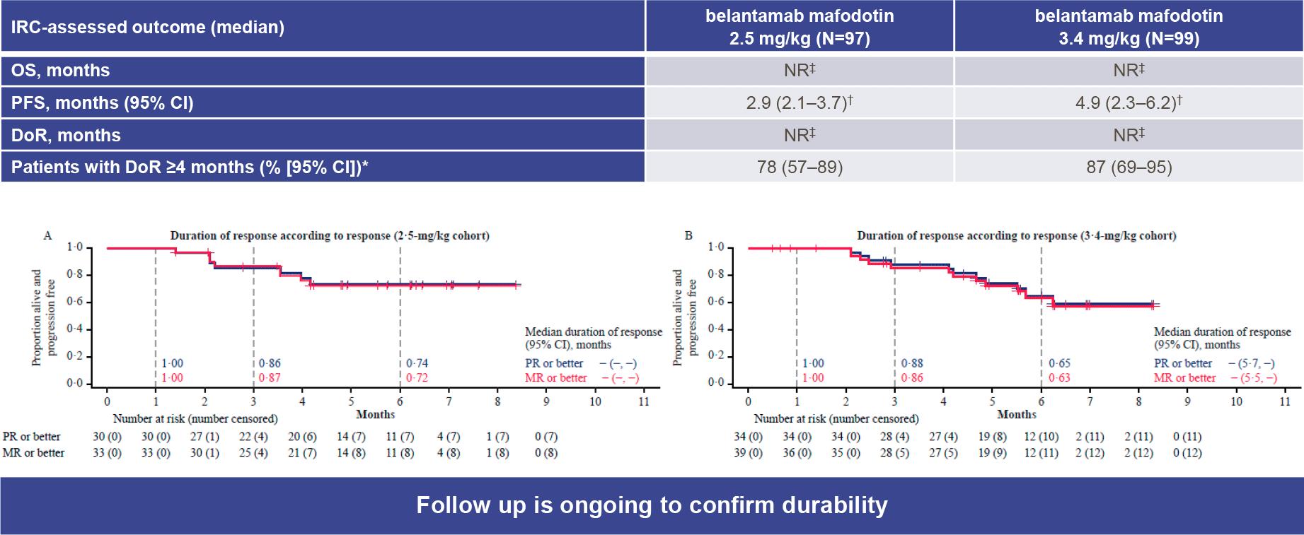 belantamab mafodotin nct03525678 results 02 - Белантамаб мафодотин для лечения множественной миеломы