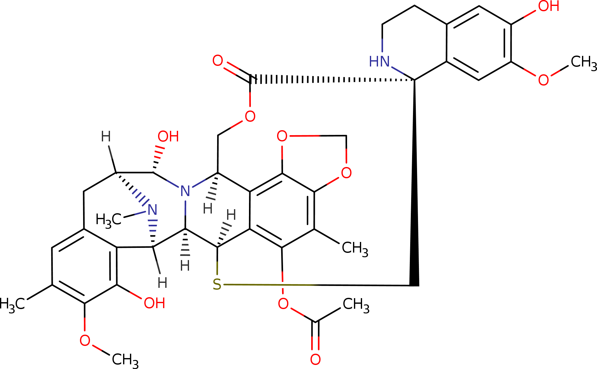 trabectedin structure - «Зепзелка»: новое лекарство против мелкоклеточного рака легких