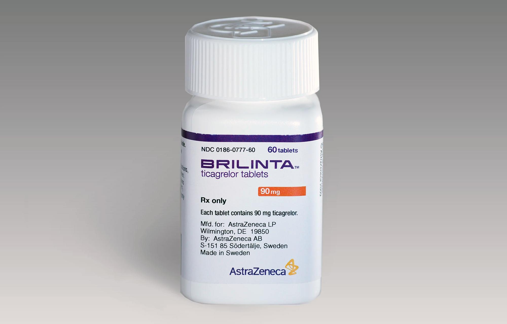 «Брилинта»/«Брилик» (Brilinta/Brilique, тикагрелор).